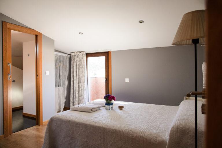 habitación interior alojamiento hotelito rutal enoturismo