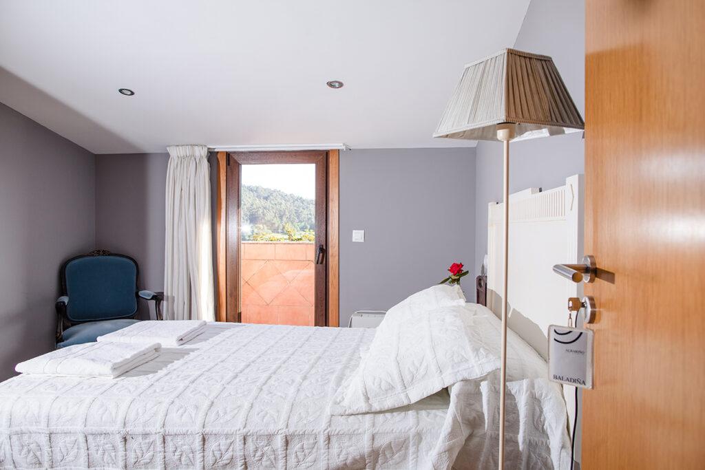 interior Habitación alojamiento hotelito rutal enoturismo