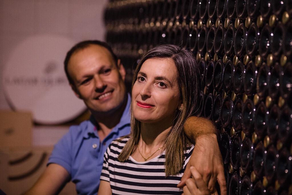 Maria Sineiro y David Ballesteros