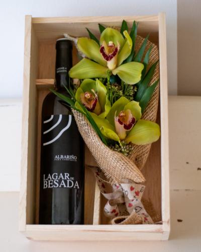 Wine Pack Orquídeas / Lagar de Besada