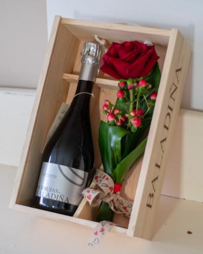 Wine Pack Rosa / Burbujas de Baladiña