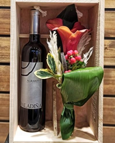 Wine Pack Flor  Natural /  Baladiña